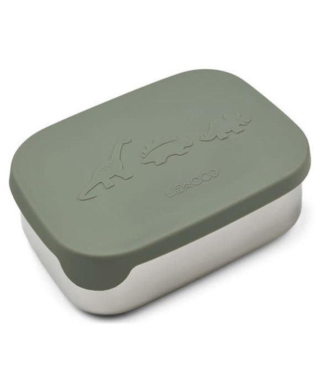 Arthur lunchbox - dino faune green