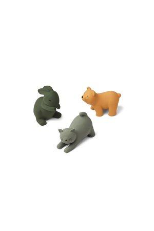 Liewood David toys 3-pack - green multi mix
