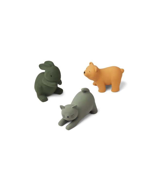 David toys 3-pack - green multi mix