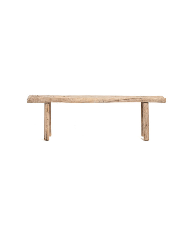 Bench weathered elm wood - 160cm