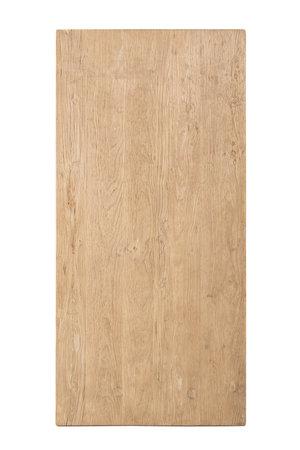 Tafel oude Chinese deur, olm hout #3 - 200cm