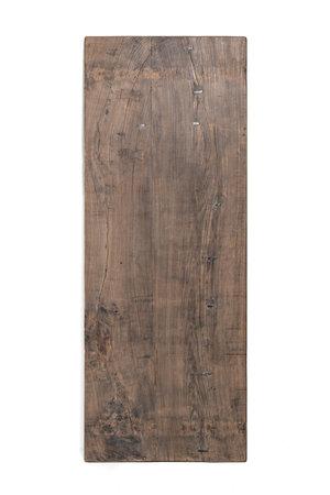 Tafel Chinese oude deur, donker olmhout #4 - 220cm