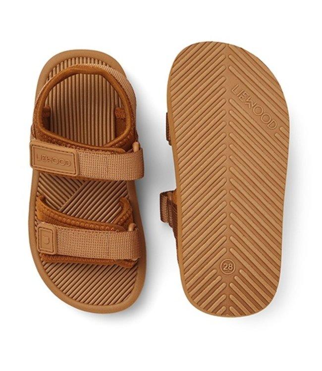 Monty sandals - mustard