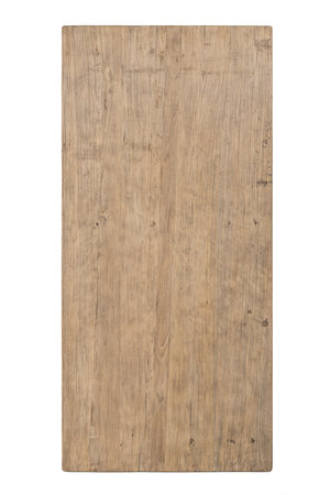 Table old Chinese door, elm #2 - 200cm
