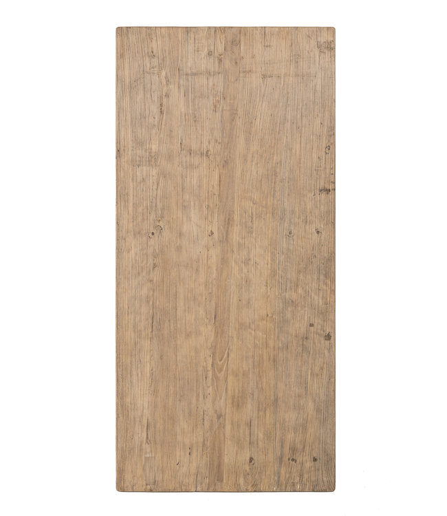 Tafel oude Chinese deur, olm hout #2 - 200cm