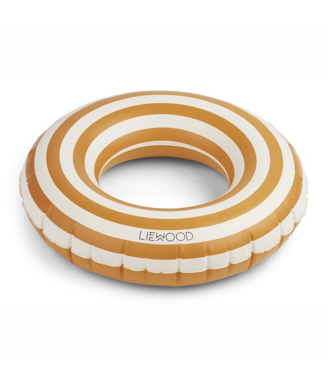 Liewood Baloo zwemband - stripe: mustard/creme de la creme