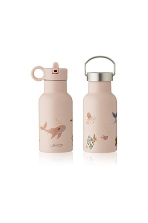 Liewood Anker water bottle - sea creature rose mix