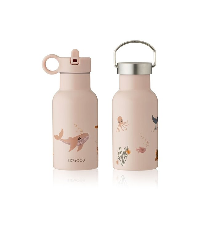 Anker waterfles - sea creature rose mix