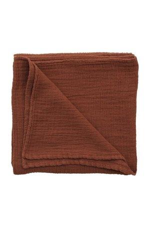 garbo&friends Cinnamon muslin swaddle doek