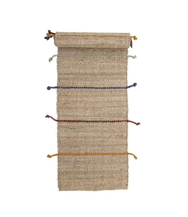 Bloomingville Mini Clas tapijt jute