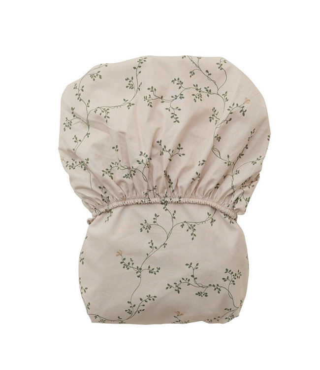 Adult fitted sheet single - botany