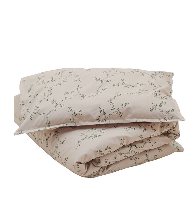 Bed set adult single - botany