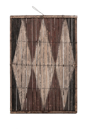Old bamboo panel #29 - Salampasu