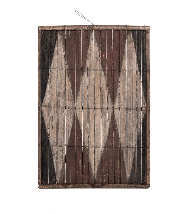 Oud bamboe paneel #29 - Salampasu