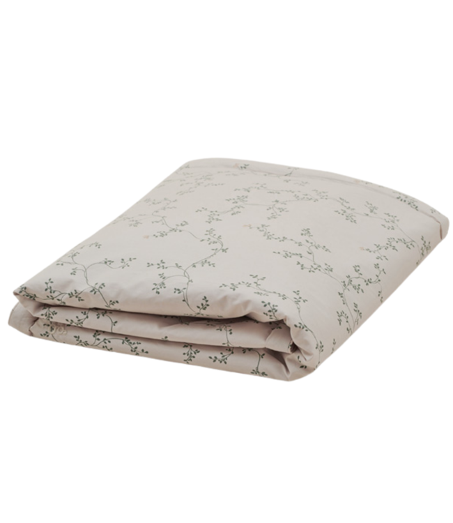 Adult double duvet cover - botany
