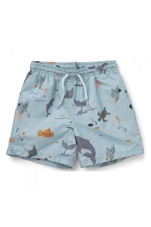 Liewood Duke board shorts - sea creature mix