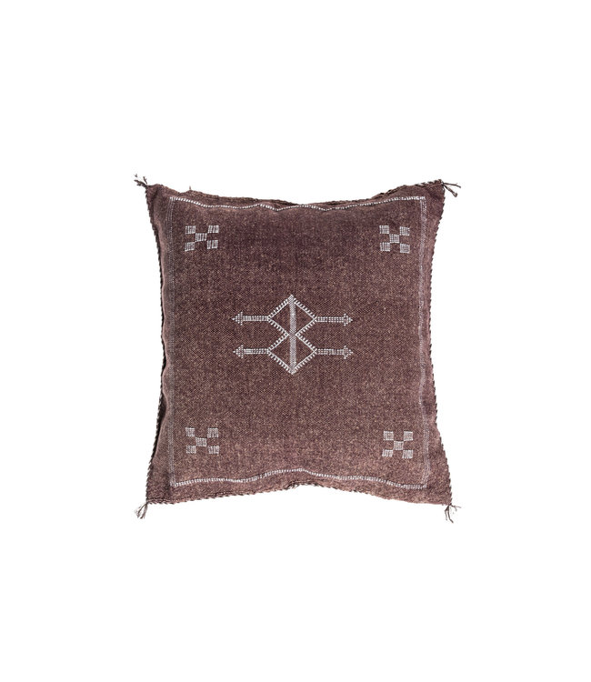 Sabra pillow blush square