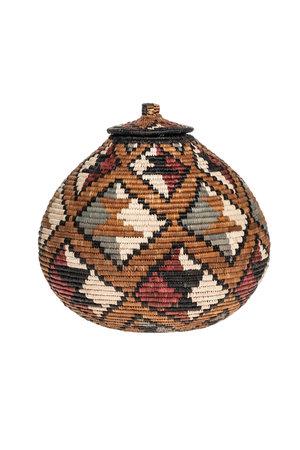 Zulu Ukhamba basket #3