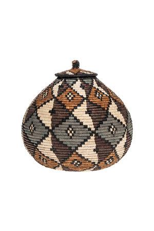 Zulu Ukhamba basket #4