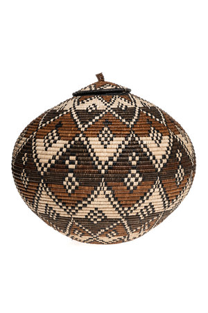 Zulu Ukhamba kruikmand master weaver #21