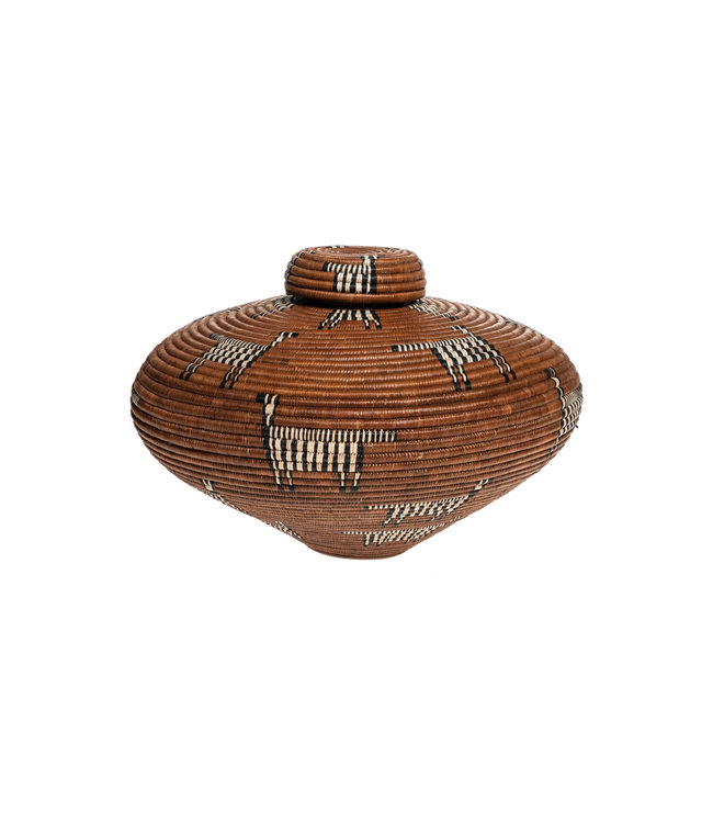 Beauty Ngxongo master weaver Ukhamba #2