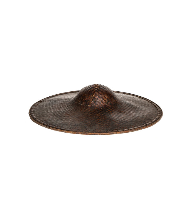 Antique Chinese farmer's hat #1 - °1920