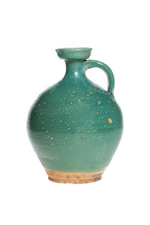 Large turquoise ginger pot - °1900