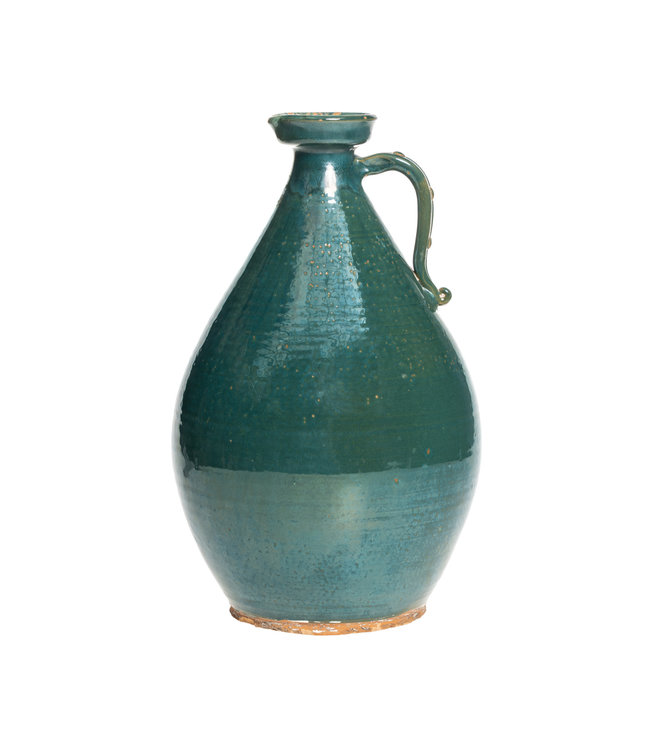 Large turquoise jar - °1950