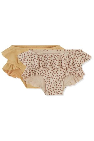 Konges Sløjd 2 Pack bikini pants - buttercup rose/orange sorbet