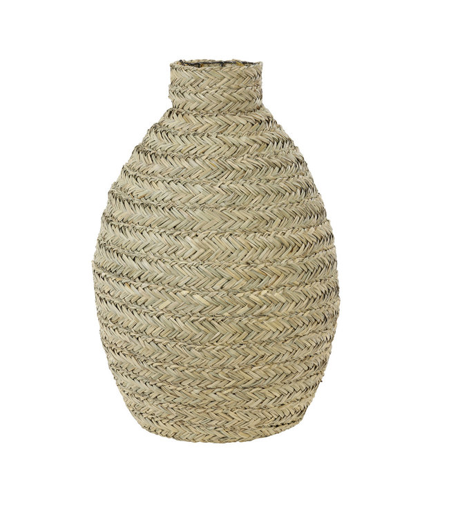 Decorative vase palm leaves 'Winston'