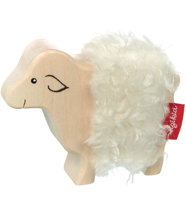 Wooden sheep - Cudly Wudly
