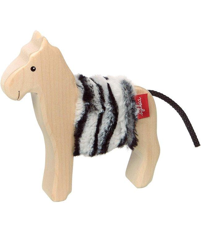 Wooden zebra - Cudly Wudly