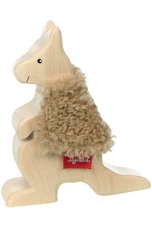 Wooden kangaroo - Cudly Wudly