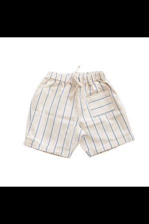 Fin & Vince Pocket shorts - blue stripe