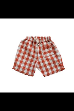 Fin & Vince Pocket shorts - picnic plaid