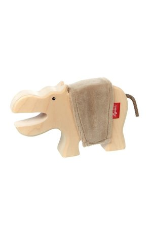 Wooden hippo - Cudly Wudly
