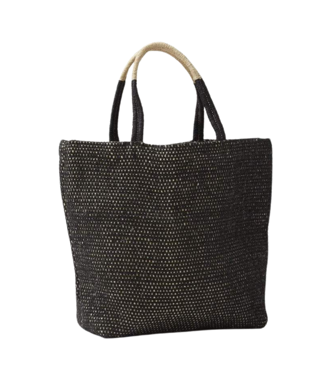 The Dharma Door Tantu jute shopper - charcoal