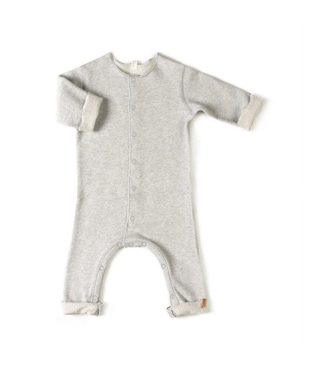 Born onesie - grey