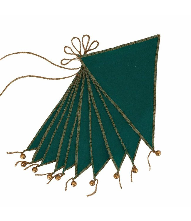 Numero 74 Bunting garland one size - teal blue