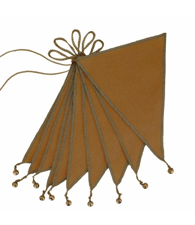 Bunting garland one size - gold