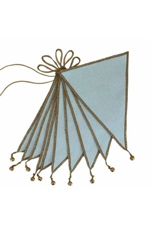 Numero 74 Bunting garland one size - sweet blue
