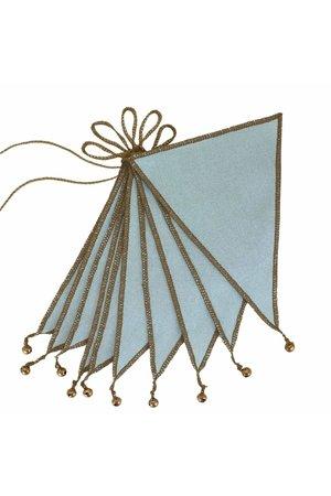 Numero 74 Vlaggenslinger - sweet blue