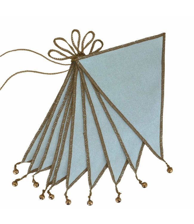 Bunting garland one size - sweet blue