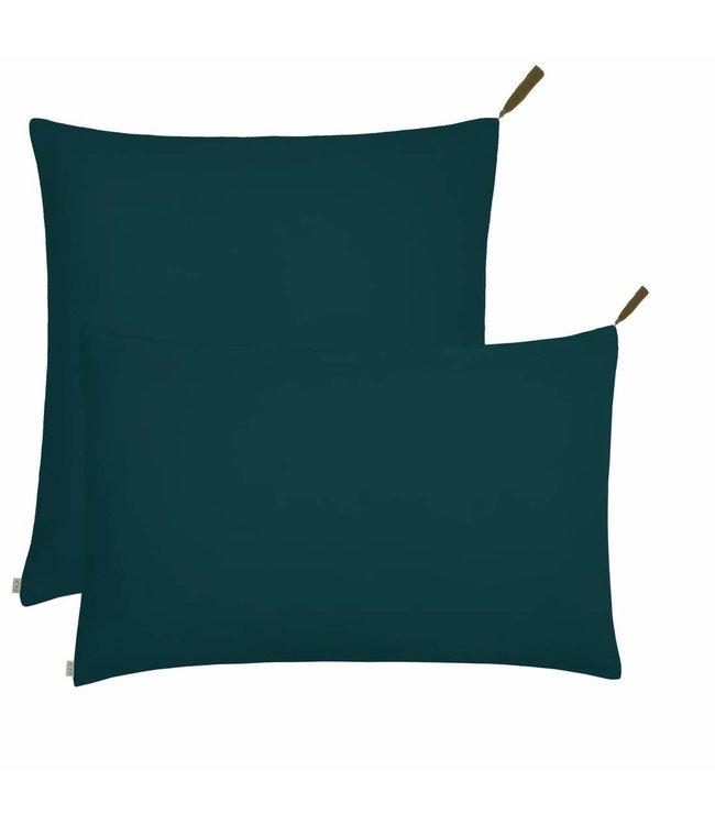 Numero 74 Pillow case - teal blue