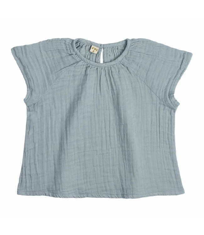 Numero 74 Clara top - sweet blue
