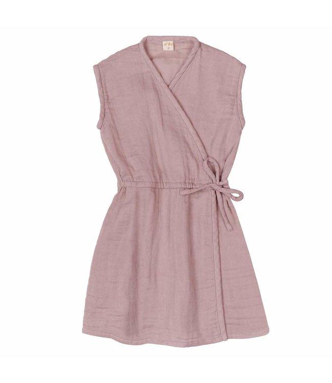 Grace dress - dusty pink
