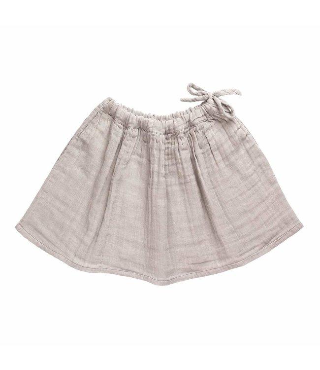 Ava midi skirt - powder