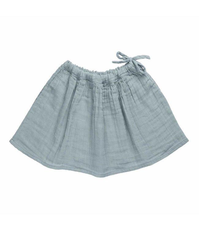 Ava midi skirt - sweet blue