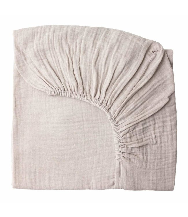 Fitted bed sheet - powder