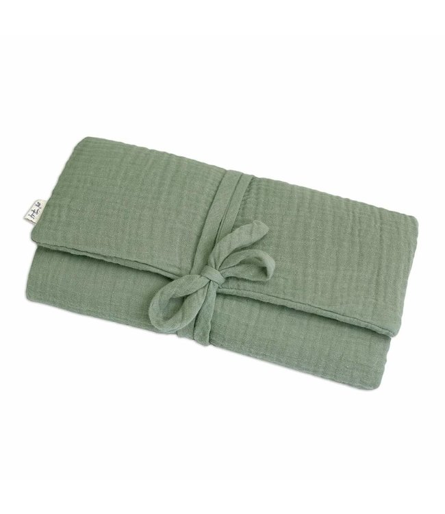 Travel changing pad one size - sage green
